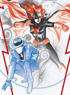 The Question & Batwoman - J.H. Williams III