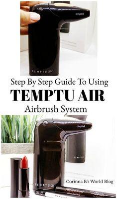 how to use temptu airbrush
