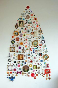 Jane's Wall Collection Christmas Tree