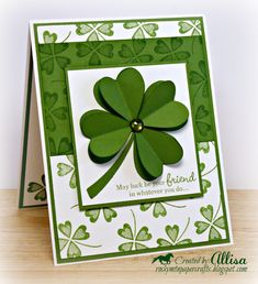 Rocky Mountain Paper Crafts: H2H Go Green Challenge