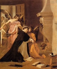 The Temptation of St. Thomas Aquinas, 1631-1632. Oil on canvas, 244 x 203 cm. Diocesan Museum, Orihuela.