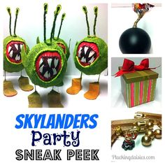 Skylanders Party Ideas | @PluckingDaisy #skylanders #Party