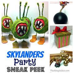 Skylanders Party Ideas | @PluckingDaisy #skylanders #Party