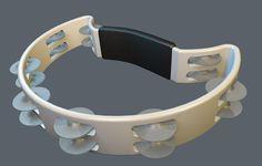 3D Model Tambourine - 3D Model