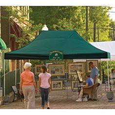 ShelterLogic 10 x 15 ft. Pro Series Pop Up Canopy Green - 22552