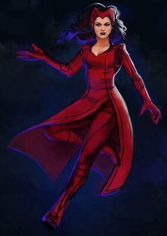 Scarlet Witch.