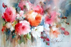Watercolor: Working Wet-On-Wet with Fabio Cembranelli, CEM-W101-WC | Marco Island Center for the Arts