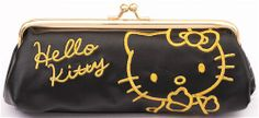 cute black Hello Kitty cat pencil case Sanrio