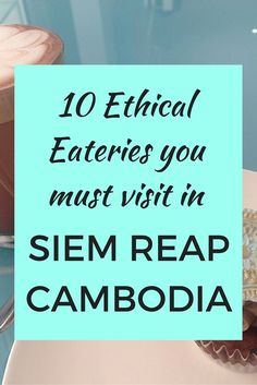 Dine for a good cause when you travel to Siem Reap Cambodia. Here is a list of 10 ethical eateries not to miss if you love responsible travel and want to give back to the community. http://myaltruistictravels.com/2016/01/food-for-good-ethical-eateries-in-siem-reap/