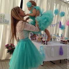 Купить Фэмели лук ... family look ... - разноцветный, туту юбка, туту, шопенка, юбка шопенка