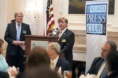 Brenau University President Ed Schrader Speaks to the Atlanta Press Club