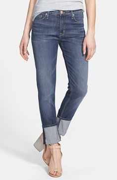 Hudson Jeans 'Muse' Cuff Crop Jeans (Hackney) | Nordstrom