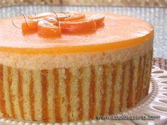 Абрикосовый Торт-Суфле (Apricot Souffle Cake)