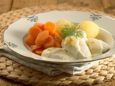 Norwegian Food, Seafood Recipes, Ice Cream, Eggs, Cheese, Fruit, Breakfast, Desserts, Jehovah
