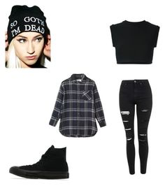 """""""Untitled #7"""" by vieveg on Polyvore featuring Kill Star, Topshop, adidas Originals, Toast, Converse, women's clothing, women's fashion, women, female and woman"""