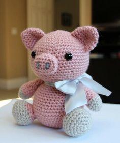 Amigurumi Pattern - Hamlet the Pig $5