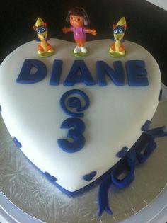Dora Cake tiersoflove.com