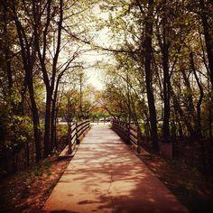 Katy Trail St. Charles MO USA