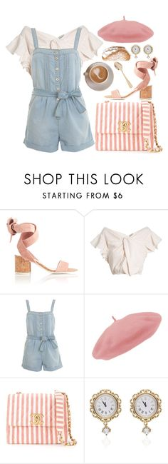 """Sweet Tooth"" by khriseus ❤ liked on Polyvore featuring Rachel Comey, Miss Selfridge, Chanel, Dolce&Gabbana, Bahne and coffeebreak"