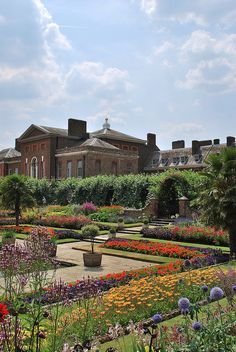 ENGLAND ~ Kensington Gardens at Kensington Palace in London. The Royal Residence of the Duke & Duchess of Cambridge aka Prince William and Kate Middleton