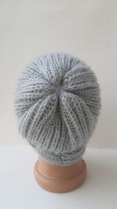 b0756594c7e68 Frauen Hut Strick-Mütze Hand stricken Mützen Frauen Hüte