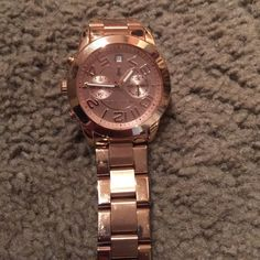 Michael Kors Watch rose gold Authentic Michael Kors watch. Rose gold like new without box MICHAEL Michael Kors Accessories Watches