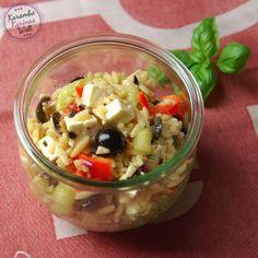 KarambaKarina's Welt: Mediterraner Risoni-Salat
