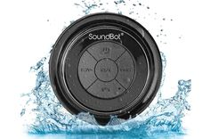 Turn your shower time into a full-on jam session with the SoundBot HD Waterproof Speaker, which boas... - amazon.com