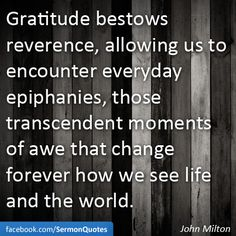 Gratitude=Spiritual Awakening :)