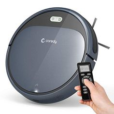 Coredy Robot Vacuum Cleaner, Super-Strong Suction, Ultra Slim, Automatic Self-Charging Robotic Vacuum for Cleaning Hardwood Floors, Medium-Pile Clean Hardwood Floors, Clean Sweep, Daily Cleaning, Floor Cleaning, Best Vacuum, Works With Alexa, Wet And Dry, How To Clean Carpet, Cozy House