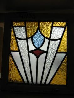 Reclaimed stained glass 1930's
