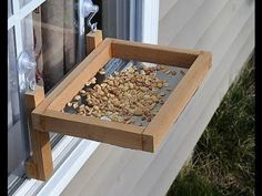 this post I'll go over how to build a Window Bird Feeder. This DIY project is. In this post I'll go over how to build a Window Bird Feeder. This DIY project is. In this post I'll go over how to build a Window Bird Feeder. This DIY project is. Easy Woodworking Projects, Popular Woodworking, Wood Projects, Woodworking Plans, Woodworking Jointer, Woodworking School, Woodworking Classes, Woodworking Videos, Custom Woodworking