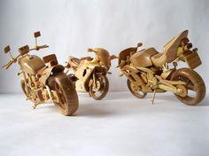 Miniatur Mobil Dan Motor dari Kayu Yang Keren   wisbenbae