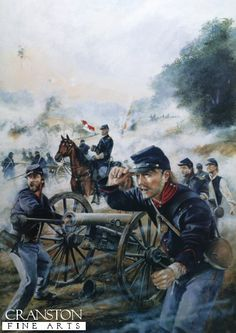 . at the Battle of Malvern Hill., July 1862 by Chris Collingwood