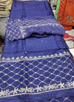 Designer Blouse Patterns, Blouse Designs, Designer Dresses, Dress Designs, Embroidery Suits Design, Hand Embroidery, Designer Punjabi Suits Patiala, Stylish Dresses, Blanket