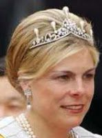 Tiara Mania: Emerald Parure Tiara worn by Princess Laurentien of the Netherlands