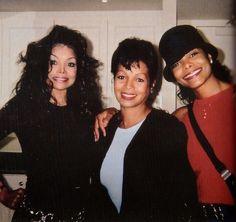 Janet, Rebbie & LaToya Jackson