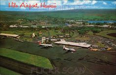 Hilo Airport c1959 by Kamaaina56, via Flickr