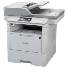 Монохромный лазерный МФУ Brother MFC-L6800DW (MFCL6800DWR1)  — 60201 руб. —  МФУ (принтер, сканер, копир, факс) ч/б лазерная печать до 46 стр/мин макс. формат печати A4 (210 x 297 мм) макс. размер отпечатка: 216 x 356 мм цветной ЖК-дисплей двусторонняя печать автоподача оригиналов при сканировании Wi-Fi, Ethernet