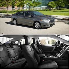 Sleek looks on the outside, spacious comfort on the inside, the 2016 Ford Fusion.