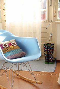 Another Crochet OWL CUSHION!!!!