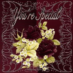 You're Special friendship glitter friend friend quote graphic friend animated