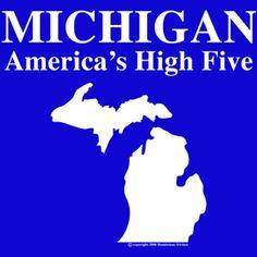 Michigan. America's High Five