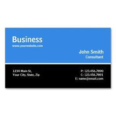 Professional Modern Plain Simple Computer Repair Double-Sided Standard Business Cards (Pack Of 100)