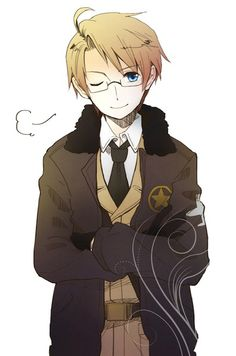 Hetalia- Alfred F. Jones  Sorry for posting so much of him. Hes just so KAWAII DESU *^* XD