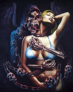 Vampire Reaper & Bikini Girl