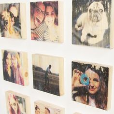 Foto auf Holz übertragen                                                                                                                                                                                 More Picture Wall, Photo Wall, Foto Transfer, Best Wordpress Themes, Wood Print, Art For Kids, Diy Home Decor, My Photos, Diy Projects