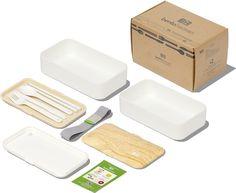 Amazon.com: Original BentoHeaven Bento Box +FREE Fun Lunch Notes, Cutlery…