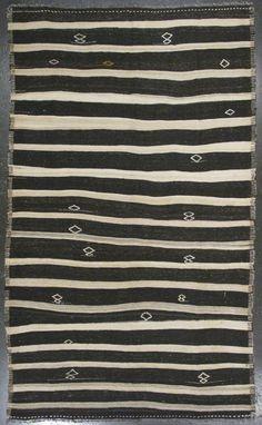 Turkish stripe Kilim from Lawrence of La Brea.