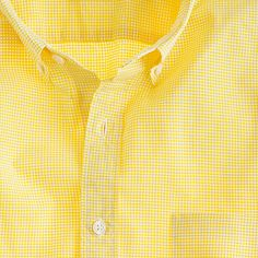 J.Crew Secret Wash shirt in sunny gingham